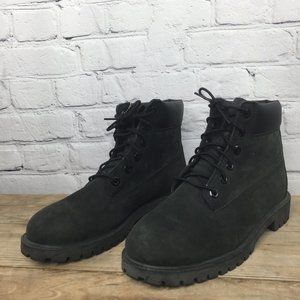 New Timberland black boots, boys